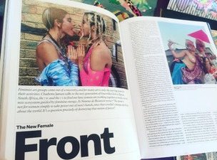 """The New Female Front"" an article on Feminist Collectives at Elephant Journal Magazine 2016"