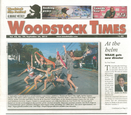 Woodstock Times, sept 24, 2015