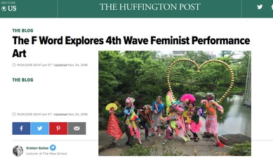 The F Word Explores 4th Wave Feminist Performance Art 11/24/2015 Dec 06, 2017