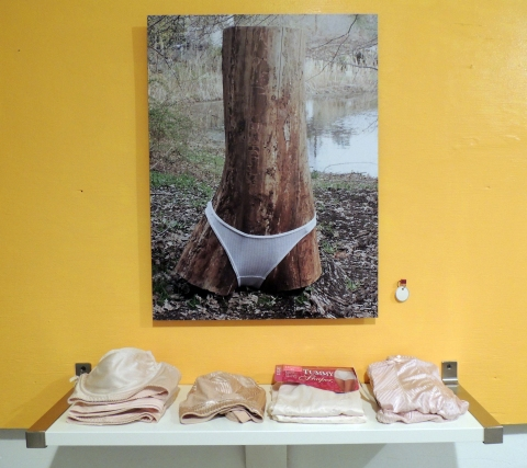 Elisa Pritzker ■ PEEKSKILL PROJECT V Photography-objects installation partial view