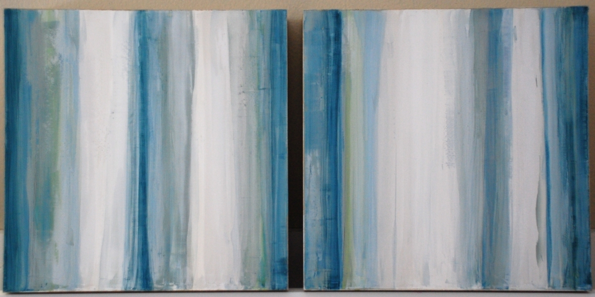PREVIOUS WORKS Blue Marbles, Pair