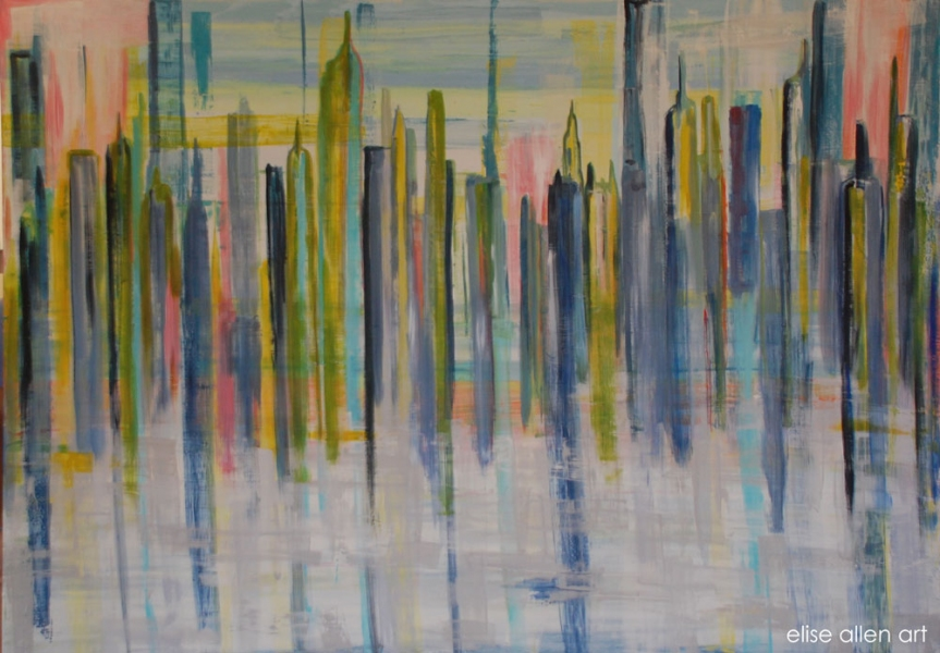 AVAILABLE WORKS Cityscape