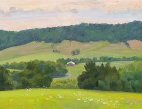 Elizabeth Sauder A Country Year oil on panel