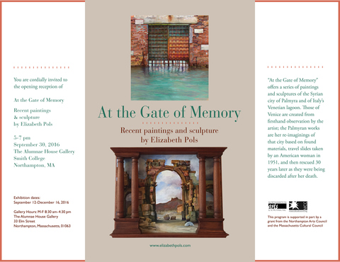 Elizabeth Pols At the Gate of Memory