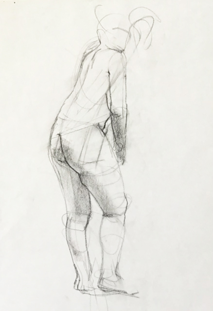 Observational Drawings Standing figure