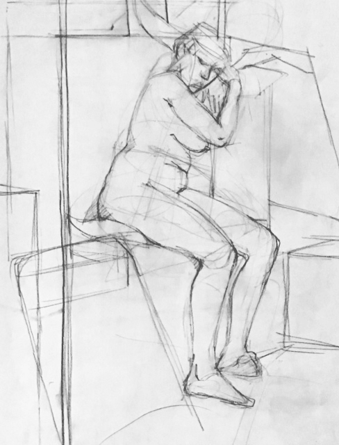 Observational Drawings Figure drawing