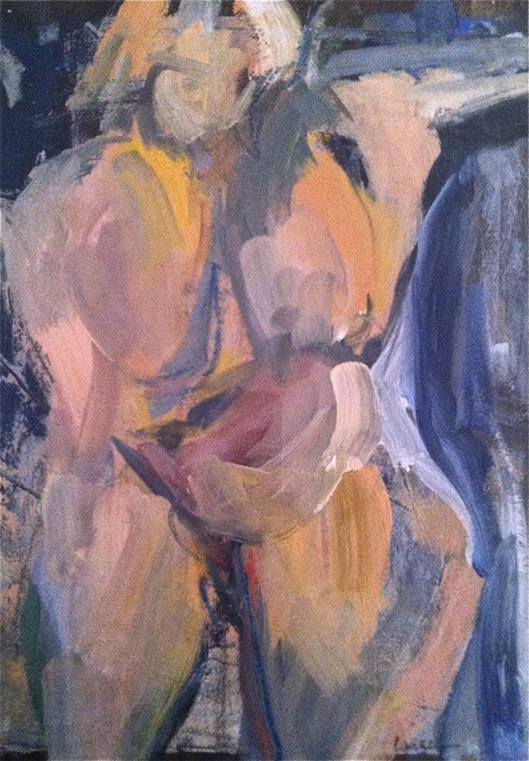 Figures & Portraits Oil / 15 x 11