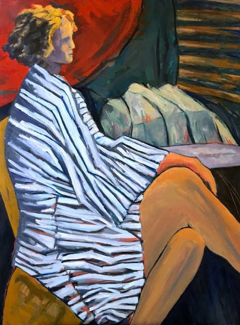 Figures & Portraits STRIPED ROBE