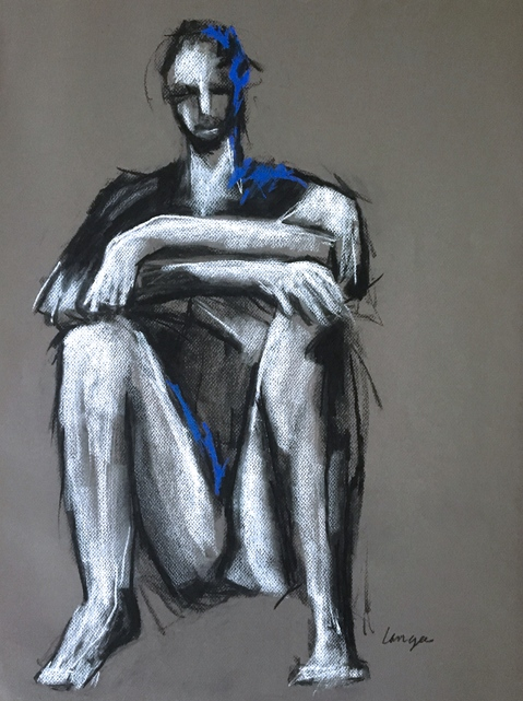 Drawings MAN SEATED