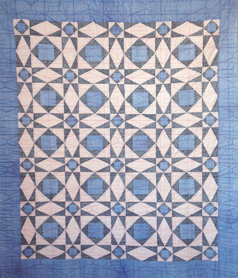 Elizabeth Duffy Security Envelope Quilts and Drawings cotton printed with Security Envelope Patterns