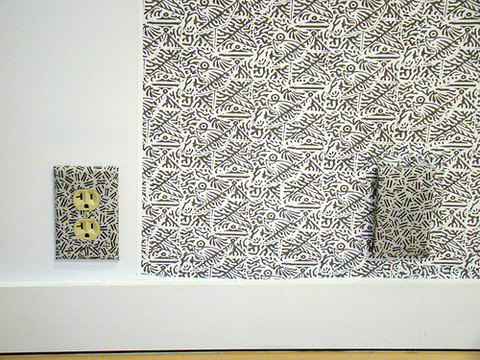 Elizabeth Duffy Maximum Security Wallpapers, Textiles and Installations