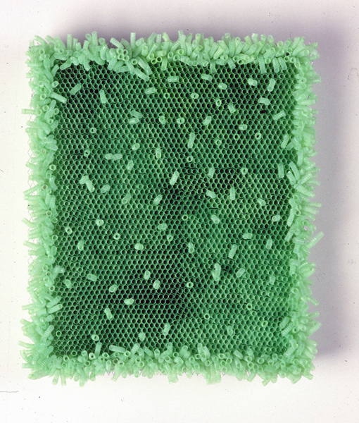 Elizabeth Duffy Archive Straws, wire mesh