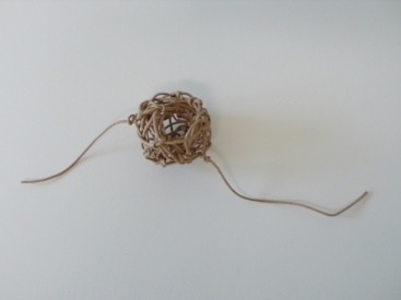 Elizabeth Mead Physical Drawings paper twine