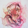 Paintings oil, pastel, and pencil on board