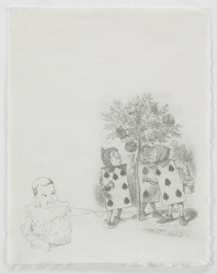 Ellen Kahn Prints digital print and graphite