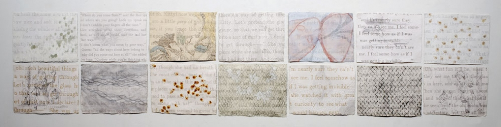 Ellen Kahn Alice Works on Paper mixed media on paper