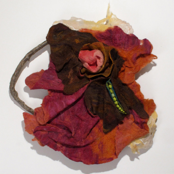 Textile Sculpture Within the Seed