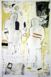 Monoprints Conversation