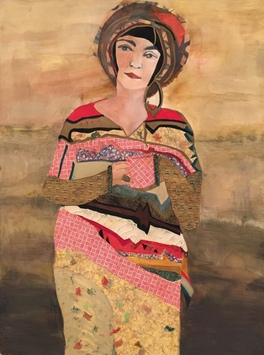 Ellen S. Gordon Figurative Collages Mixed media on paper