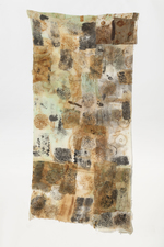 Ellen Solari FIBERS wall hanging