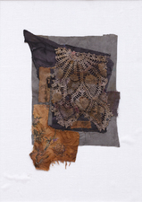 Ellen Solari New Work 2017-2018 fiber collage