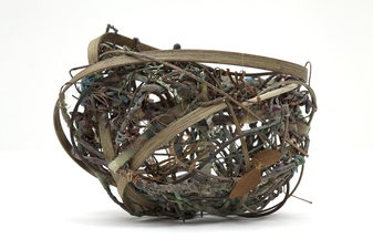 Ellen Solari Sculptural Baskets random weave basket