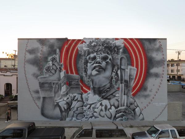 El Mac Murals Outdoors