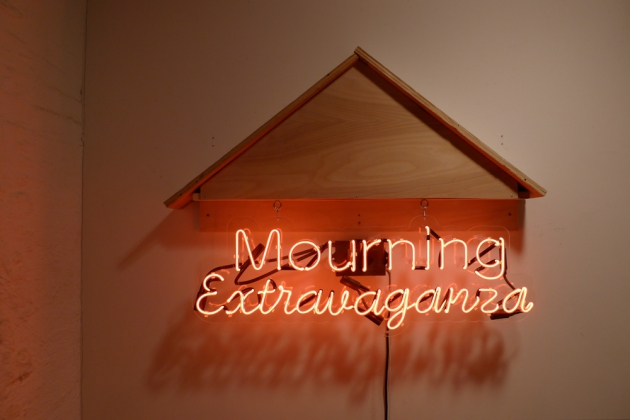 Emilie Lemakis Recent Work neon, wood