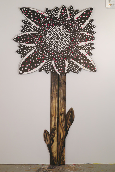 Emilie Lemakis Recent Work wood, paper, ink