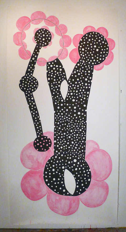 Emilie Lemakis Recent Work ink and acrylic on paper