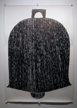 Emilie Lemakis Large-Scale Drawings ink on paper