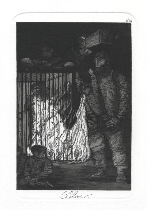 Emily Lombardo The Caprichos Etching and Aquatint