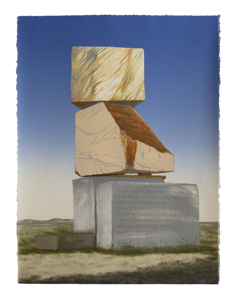 Emily Lombardo Queer Monuments Lithograph
