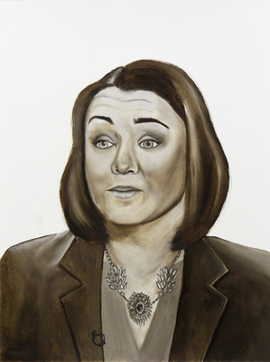 Emily Roz Portraits 2016-2019 oil on paper