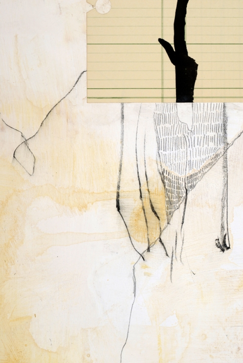works on paper Wander (Detail)