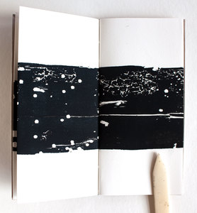 ERIKA NAKATANI Works On Paper Japanese paper, continuous folded wood block print on arches paper