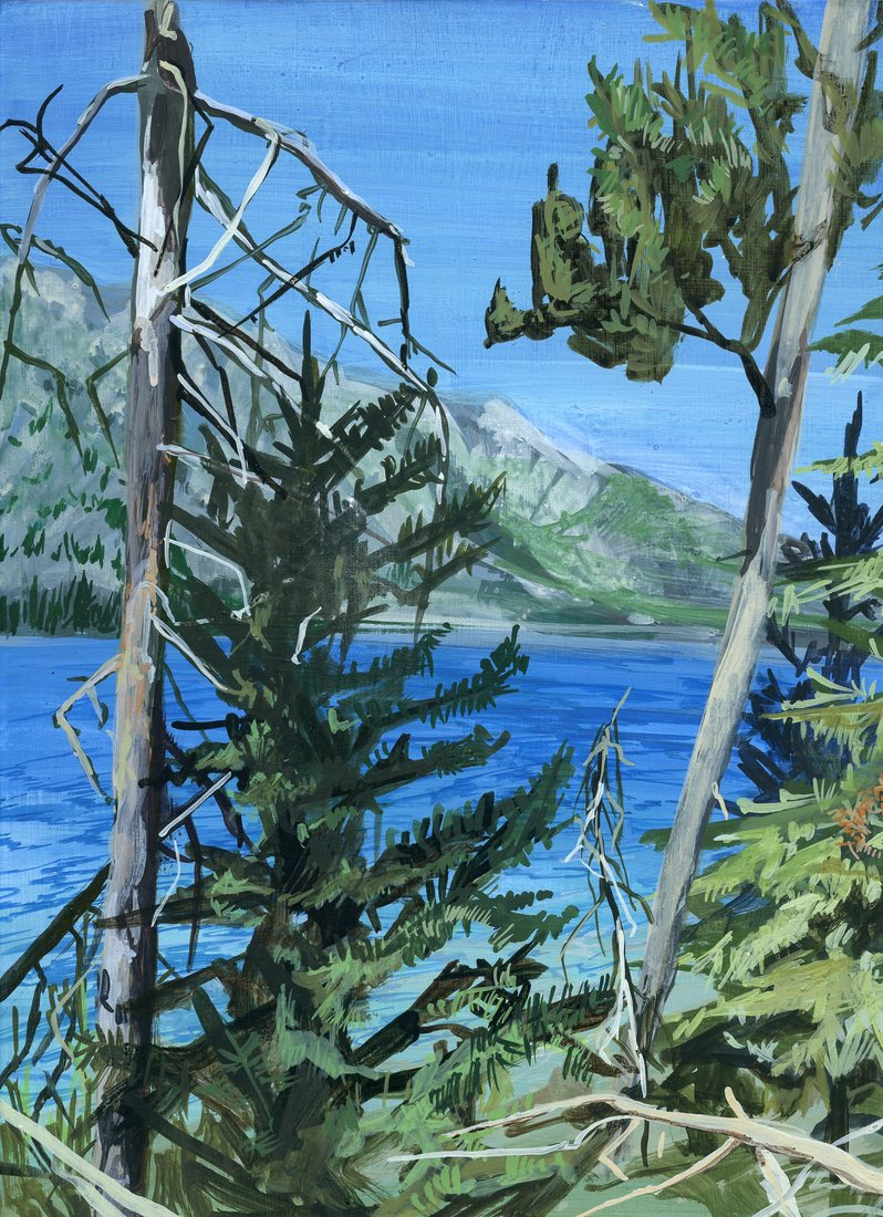 Paintings Grand Tetons: Jenny Lake