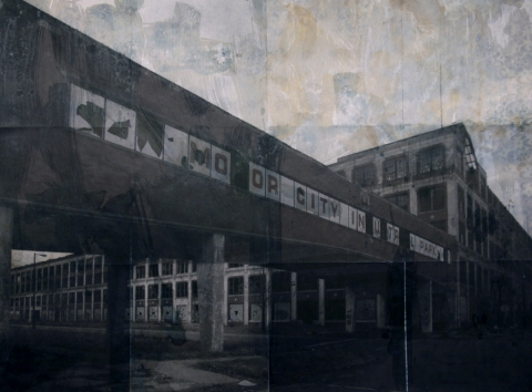Erik Beehn Selected Earlier Work (2006-2012) Mixed Media Photo Construction