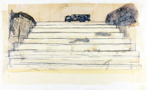 Erik Beehn Selected Earlier Work (2006-2012) Mixed Media on Paper