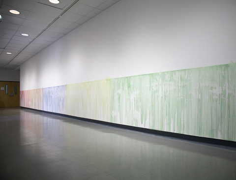 Erik Beehn Recent Work (2016-2019) Solvents and Pigmented Ink directly on the wall