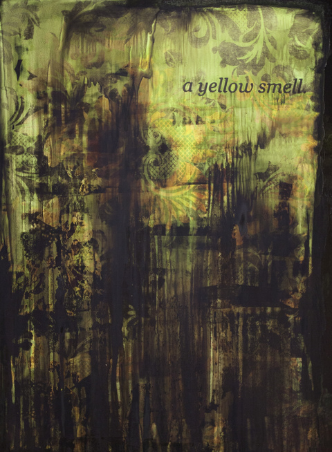 Erik Beehn The Yellow Wallpaper Mixed Media on Paper