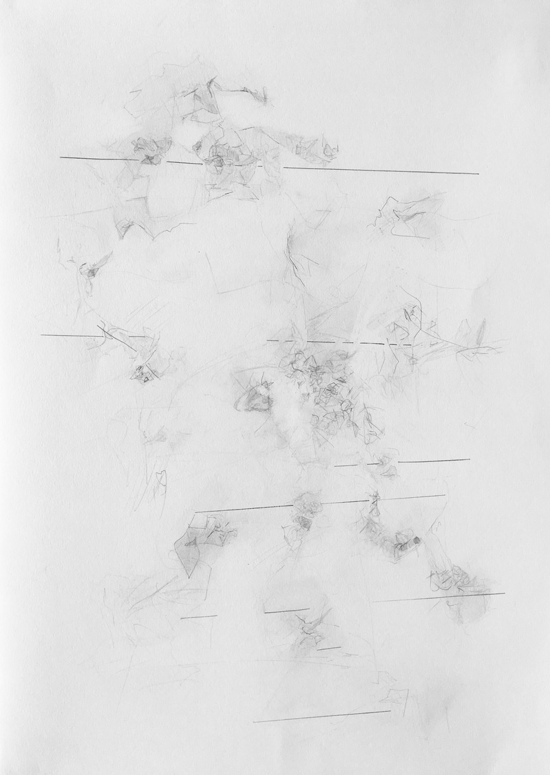 Drawings 2016-2018 Navigating Shallow Spaces