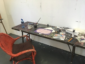 Residencies 2018 studio view