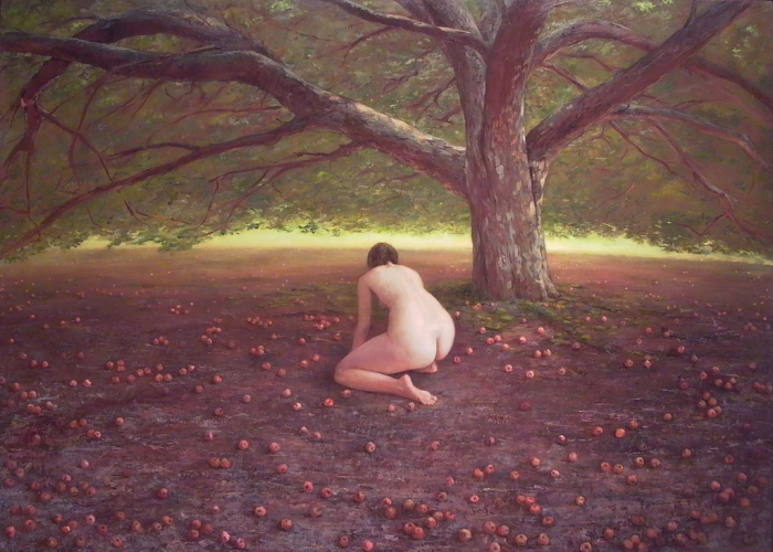 ERIN CARNEY Orchard oil on panel