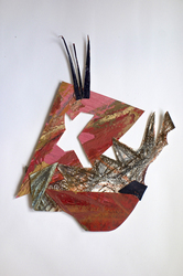 Erin Treacy Little Ones: Paper Sculptures Paper Assemblage
