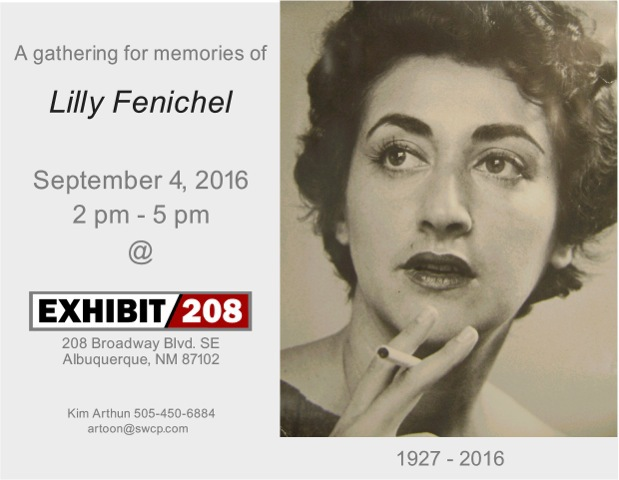 Exhibit 208 Lilly Fenichel Farewell