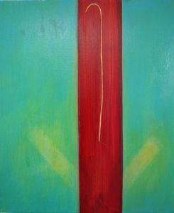 Exhibit 208 Angela Berkson acrylic on canvas