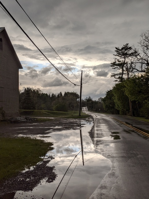 Photography After the Rains- Walk to get the mail.