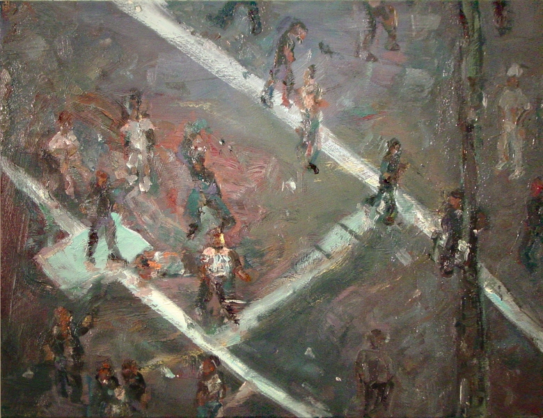 Painting Dance of the Bombed, Last Dance