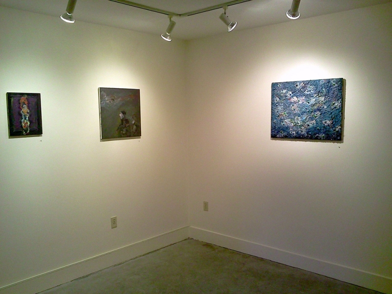 FB @ John Davis Gallery 2015 and 2012 Schooling II, The Messenger and Strong Men III
